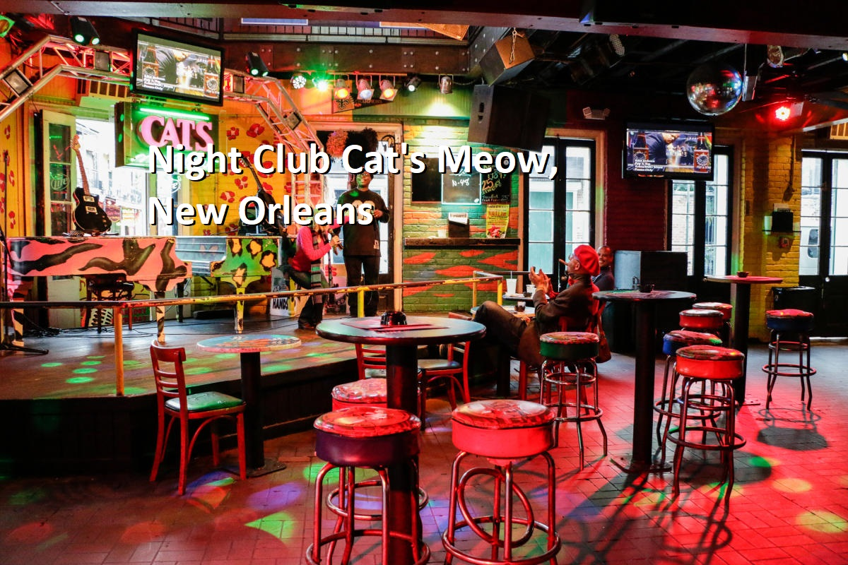 Night Club Cat's Meow, New Orleans