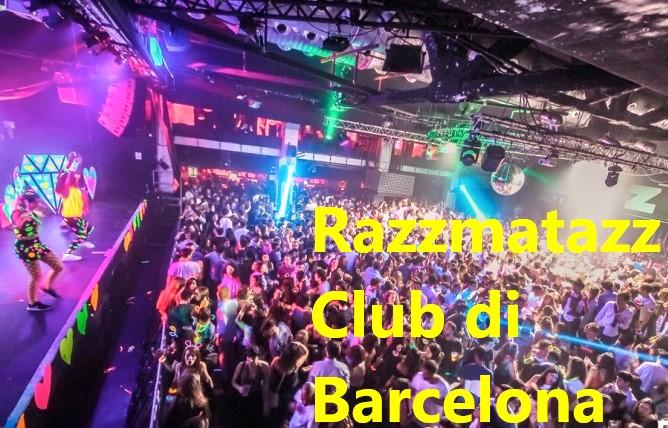 Razzmatazz Club di Barcelona