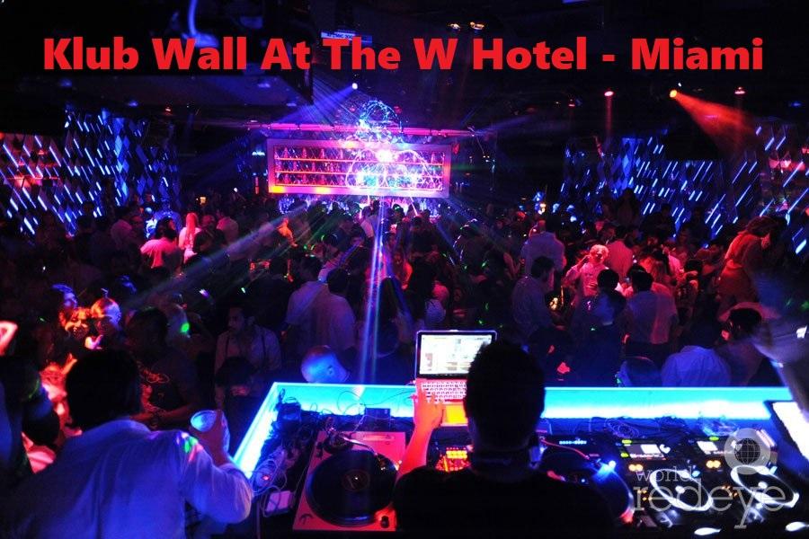 Klub Wall At The W Hotel